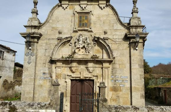 Igrexa de San Martiño do Porto. Cabanas