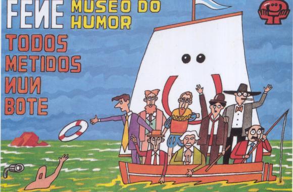 Mural deseñado por Xaquín Marín. Fene