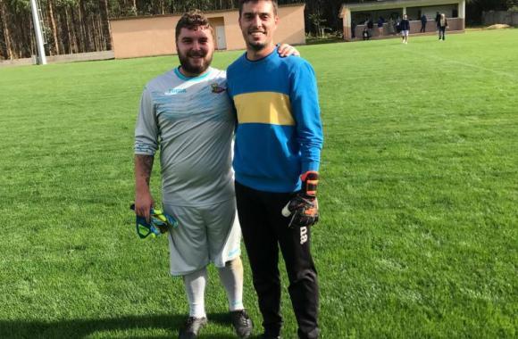 Alex Pico e Rafa Afonso, porteiros do Perlío
