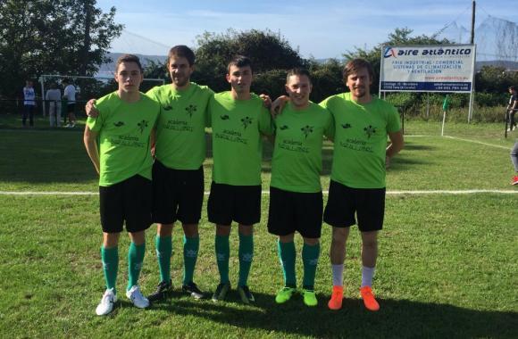 Gabi, Pena, Brais, José e Guille
