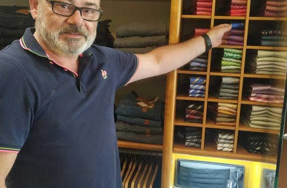 Bruno Noguerol, de Bruno Club, da rúa Real de Ferrol