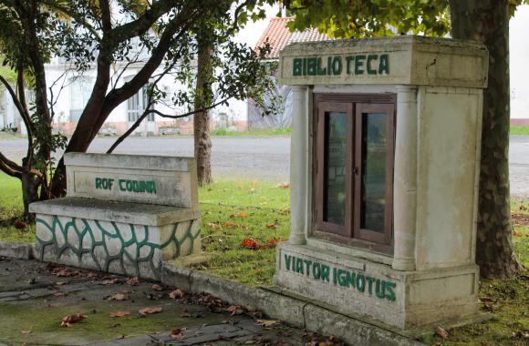 Monumento ao Camiñante Descoñecido. Un exemplo de acción cultural