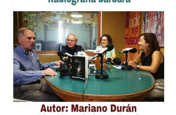 Mariano Durán en Radio Fene Radiofusión