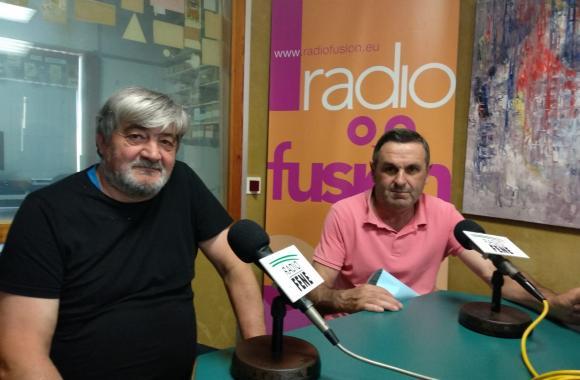 "Jesús Carneiro e Jesús Ares ""Lito"". Comisión de festas Perlio 2019"