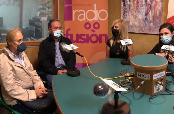 Amparo Saavedra, Ana Basoa, José Sardiña e Estefanía Purriños