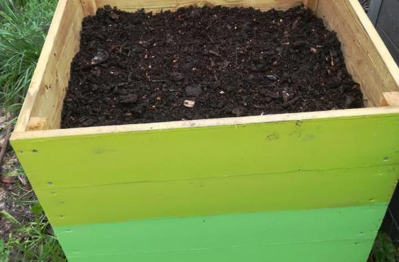 Elaboración de compost e reparto unha vez madurado