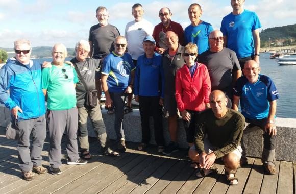 Xentes da montaña do Pais Vasco co club Montaña Ferrol