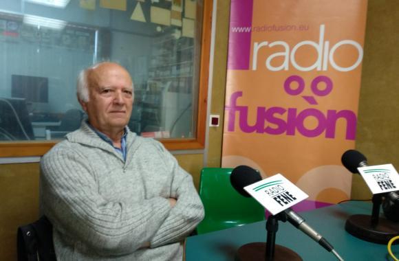 Ernesto López Naveiras, da agrupación instrutiva de Caamouco