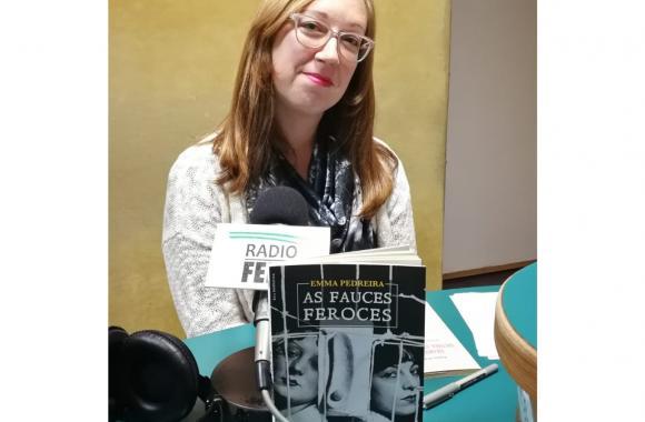 Emma Pedreira, autora de As fauces feroces
