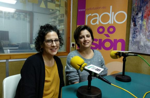 Iria García e Lidia Pena, de Semente Trasancos