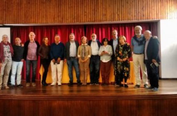 Integrantes de Tagallo e do Teatro Círculo de Perlío