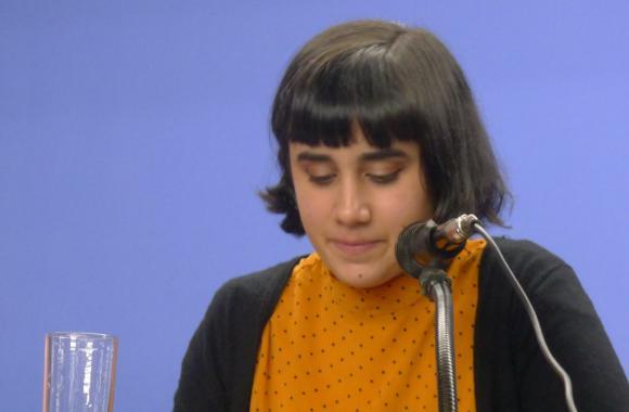 Regina Touceda, premio Pérez Parallé de poesía
