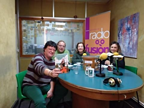 Xurxo Souto, Henrique Sanfiz, María Xesús Arias e María Xosé Lavandeira