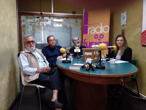 Xavier Alcalá, Henrique Sanfiz, Eliseo Zaera e María José Lavandeira