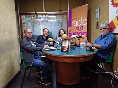 Pepe Barro, Henrique Sanfiz, Pitusa Arias e Noli Vilariño