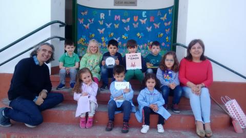 Escola de Sillobre. Abril de 2018
