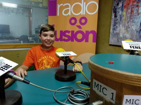 Brais Pazo en Radio Fene