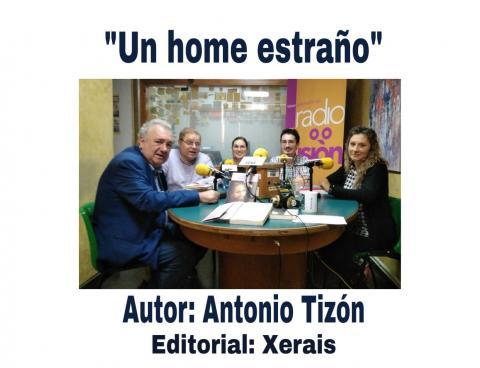 Antonio Tizón, Henrique Sanfiz, Esther Val, Andrés C.M. Riveira e Maria José Lavandeira