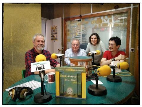 Antonio Sandoval en Radio Fene. 2018