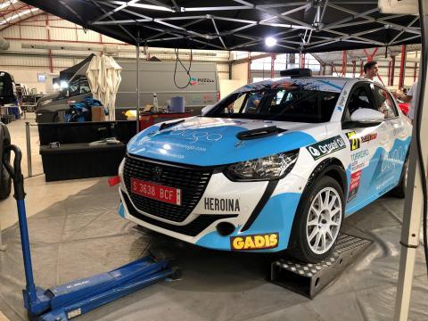 Vigo e Ameneiro compiten no Tour European Rally