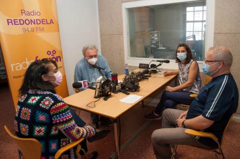 Fotografia: @quinovilas Clube de lectura de Radiofusión en Radio Redondela