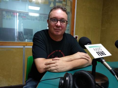 Alfredo Fernández en Radio Fene