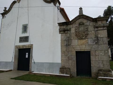 Capela da familia da nai de Concepción Arenal en Bañobre (Miño)