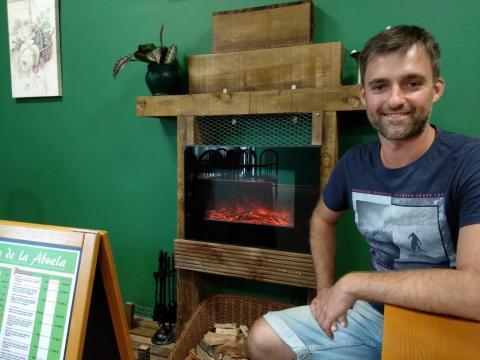 Pablo Basoa, un dos socios de La Casa de la Abuela