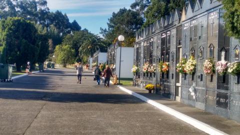 Cemiterio municipal de Barallobre. Fene