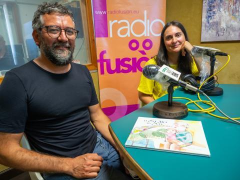 Leandro Lamas e Ángeles Goás