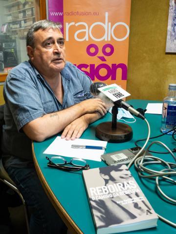 Xosé Manuel Pereiro. Fotografía. Xan Xe Corral