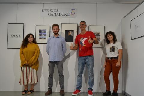 Entregados os premios Curuxa do Museo do Humor de Fene