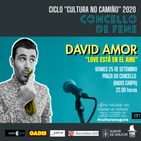 David Amor. Love está en el aire