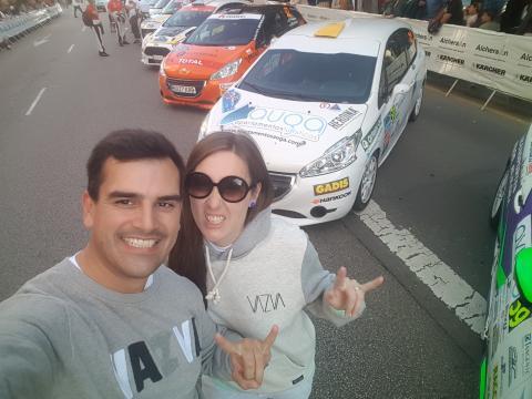 Edgar Vigo e Fátima Ameneiro