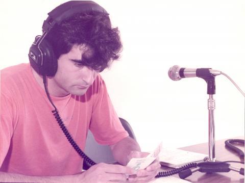 Pablo Lago, foi o primeiro director de Radio Fene. Setembro de 1984