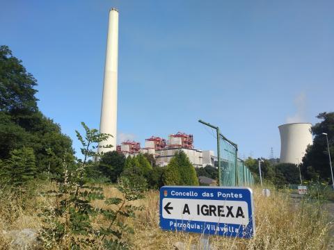 Endesa anunciou o peche da factoría das Pontes