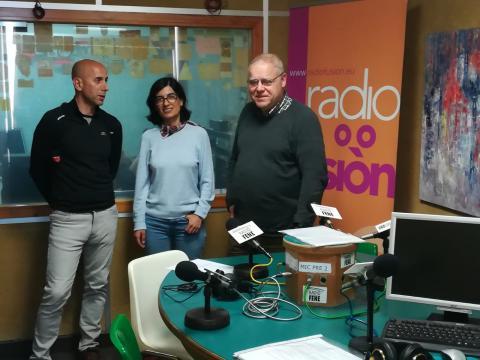 Carlos Sardiña, Anxos García Fonte e Henrique Sanfiz