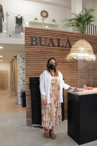 Berta Ameneiro en Bualá