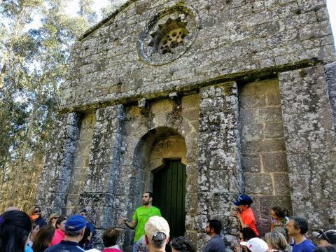 Santuario de San Miguel de Breamo. Século XII