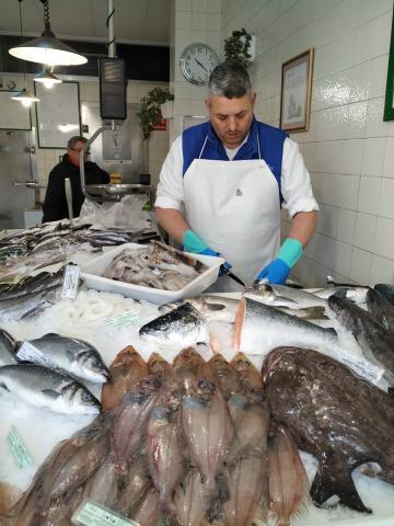 Alberto Pazo, da Peixería A Greta