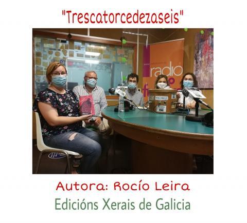 Clube de lectura Trescatorcedezaseis con Rocío Leira
