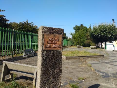 Xardín de Luís Seoane. Estación de Perlío. Fene