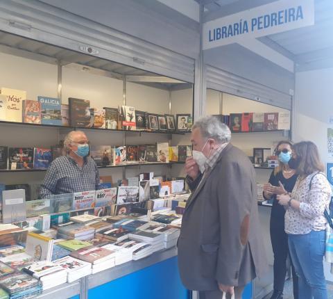 Feira do Libro de Ourense. Xuño de 2021