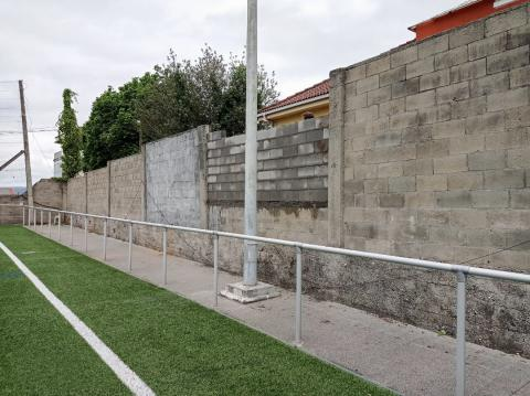 Muro do campo do Pote de Maniños