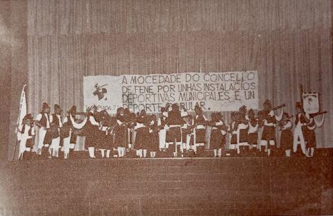 Primeira Olimpiada de Fene. 1977