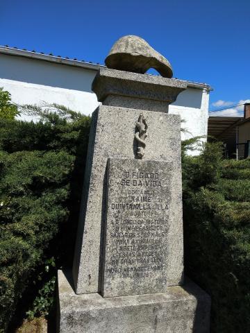 Monumento ao fígado. Valón. Ferrol