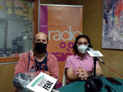 Juan José Seijo e Fernando Fresnillo. Profesores de FP