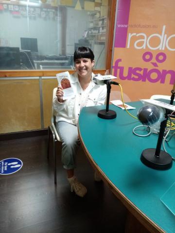 Lúa Vila en Radio Fene