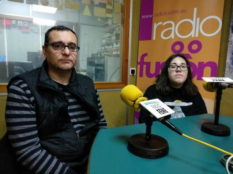 Victor Manuel Quintero e Fátima López. Colexio Jorge Juan de Perlio