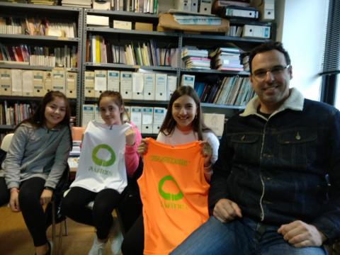 A comunidade educativa implicada contra o cambio climático